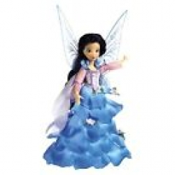 DISNEY FAIRIES FLOWER PARTY TINKERBELL BLUE DOLL