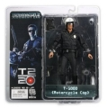Neca 7 Inch Terminator Collection Series 1 the Motorcycle Cop T-1000 Action Figure