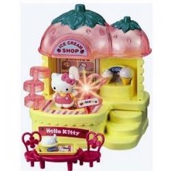 Hello Kitty World Strawberry Ice Cream Shop