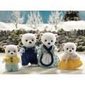 Sylvanian Families *NEW* Beaufort Polar Bear Family