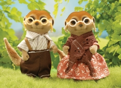 Sylvanian Families *NEW* Spotter Meerkat Grandparents