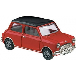 Vanguard 1/43 Mini Cooper Red with Black Roof
