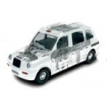 The Beatles Album Cover 1:36 Scale Die-Cast Collectable Taxi with Revolver Album Cover Art - Corgi