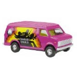 Corgi - Charlies Angels Pink Collectable Van Die Cast