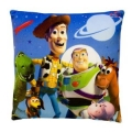 Toy Story Buzz Woody Infinity Printed Plush Cushion 13""