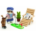 Sylvanian Families Grandfather at Home Set
