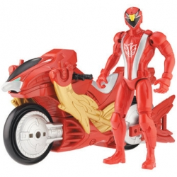 Power Rangers RPM Racing Performance Cycle RED Bandai