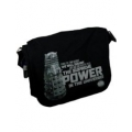 Doctor Who Daleks Black & Grey Messenger Bag