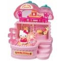 HELLO KITTY STRAWBERRY FAST FOOD SHOP - LIGHT UP