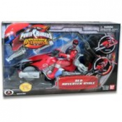 Power Rangers Operation Overdrive RED Hovertek Cycle