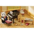 Sylvanian Family School Music Lesson
