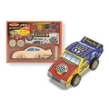 Melissa & Doug -Decorate-Your-Own Wooden Race Car