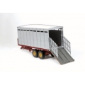 Britains 40999 - Twin Axle Trailed Livestock Transporter 1:32nd Scale