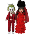 Beetlejuice - Beetlejuice and Lydia Living Dead Dolls (Set of 2)