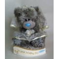 Me To You Tatty Teddy Bear Wedding Day Bride With Floral Veil & Dress 6""