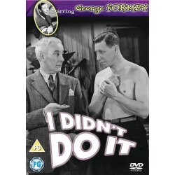 I Didn't Do It [DVD] [1945] George Formby