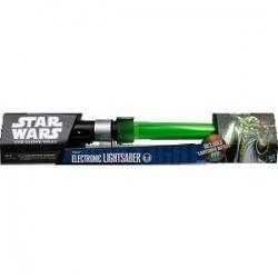 Star Wars Clone Wars Yoda Electronic Lightsaber