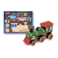 Melissa & Doug - Decorate-Your-Own Wooden Train